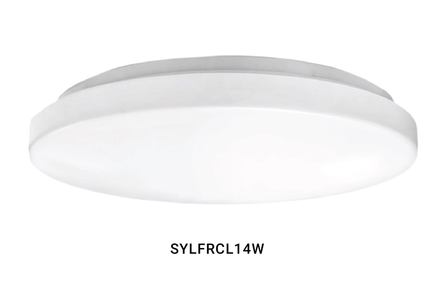 SYFRCL14W WHITE CEILING FITTING