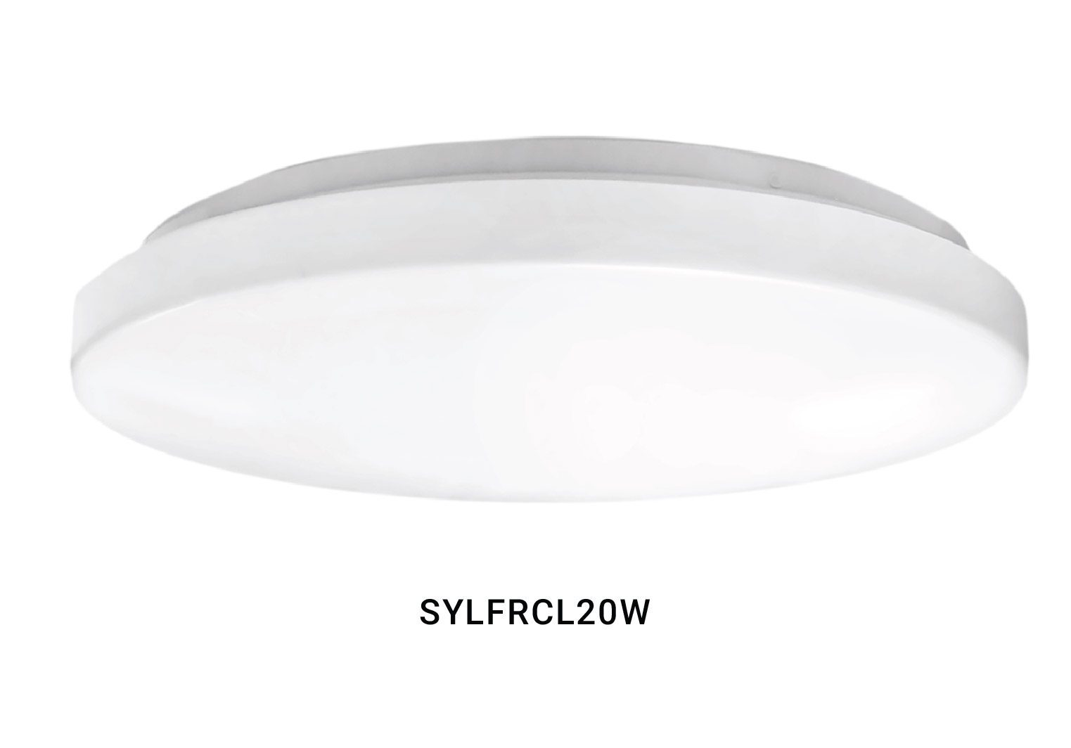 SYLFRCL20W WHITE CEILING FITTING